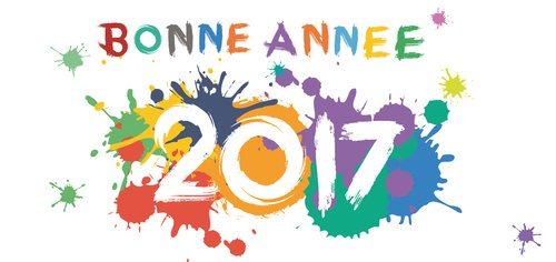 Bonne Anne 2017 peinture